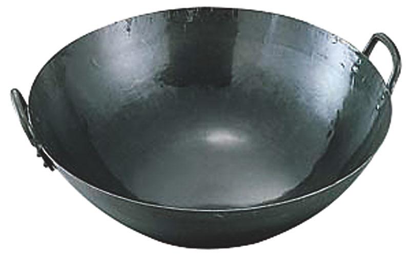 鉄打出広東鍋(取手溶接)