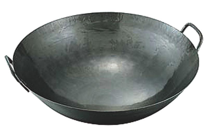 鉄打出中華鍋 1.2mm(取手溶接)