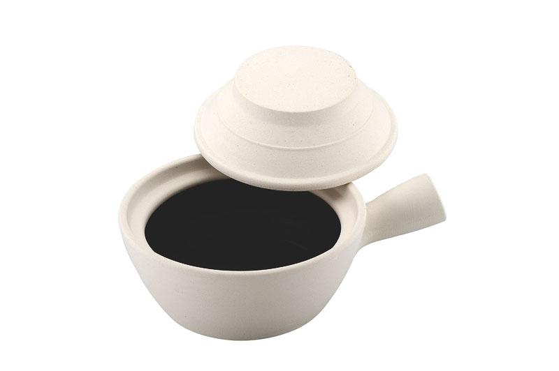 燕舞 砂鍋深型 片手 タイプⅡ