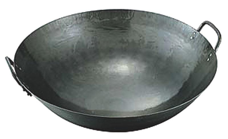 鉄打出両手中華鍋